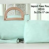 tas jinjing import pouch murah/ tas clutch wanita murah/ buy 1 get 2