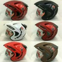 Helm Double Visor Kaca JPX Supreme Solid