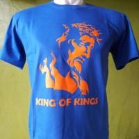 """kaos rohani KING OF KING"""" ( XXL )"""
