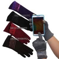 Sarung Tangan Musim Dingin Wanita Touch Screen/ Gloves Winter