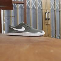 Sepatu Original Nike SB Portmore Solarsoft Olive Green