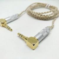 (Diskon) L Jack DIY Kabel M2M Special Westone AUX Cable 3.5mm 1.25M