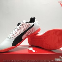 SEPATU FUTSAL INDOOR - PUMA ADRENO III IT ORIGINAL #10404705 WHITE