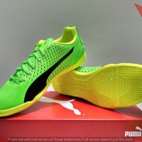 SEPATU FUTSAL INDOOR - PUMA ADRENO III IT ORIGINAL ART#10404701