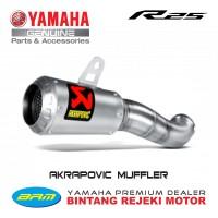 Akrapovic Muffler Slip-on for Yamaha R25 / MT25 - Made in Slovenia