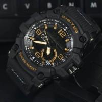 Jam Tangan Pria Digitec DG2102 Dualtime Black list Gold