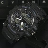 Jam Tangan Pria Digitec DG2102 Dualtime Black list Grey