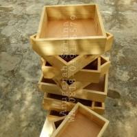 25x25cm kotak seserahan kayu unik box hantaran pernikahan murah