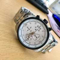 Jam Tangan Pria Formal Hegner HW5012G-3 Original Silver Black Garansi