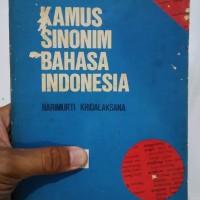 Kamus Sinonim Bahasa Indonesia