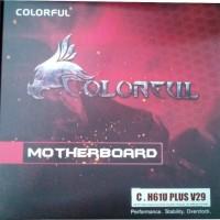 Motherboard COLORFUL C.H61U PLUS LGA 1155 Intel H61 DDR Berkualitas