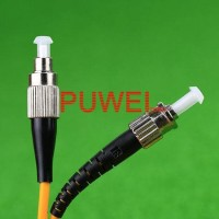 FC to ST Optic fiber patch cord Dia jumper cable FC /PC - ST /PC Kabel