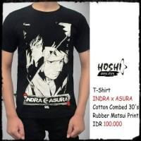 T-Shirt Distro Kaos Anime INDRA x ASURA