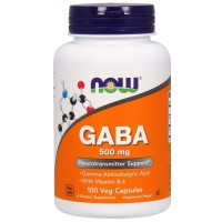 now foods - GABA 500mg (100caps)