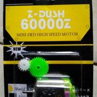 Dinamo Tamiya Chu Kin Chukin Z-Dush 60000 Z Mini 4WD High Speed Motor