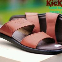 sandal pria kickers round concept sz 39-44 leather