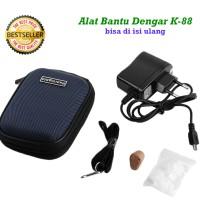 Alat Bantu Dengar Hearing Aid K-88 / K88 Isi Ulang Recharge