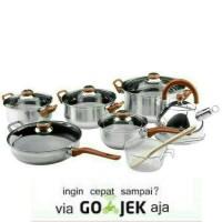 Panci Set OXONE - Eco Cookware Set 12 + 2 Pcs ( OX - 933 )
