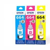 Tinta Epson Original 664 C,M,Y- For L110,L120,L210