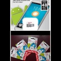 Card Memory SanDisK 32 GB Spead 48