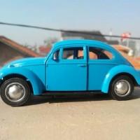VW Beetle klasik diecast - mobil VW kodok die cast - mainan miniatur