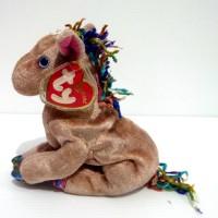 Boneka The Horse Kuda Original TY Beanie Baby Chinese Zodiac Edition