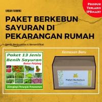 Paket 13 jenis benih eceran (cabe, tomat, pepaya, pokcoy, sawi DLL)
