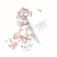 PALING MURAH Kerudung Segiempat Motif Sakura Salem Hijab Jilbab Souve