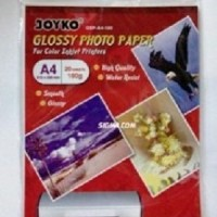 Glossy Photo Paper Joyko  180 gsm  A4