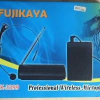 Wireless Microphone Buat Presentasi-Clip On-Nyala TAPI Tidak fungsi