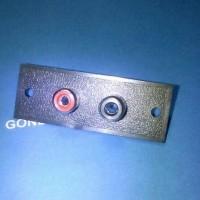 Soket RCA 2 pin (murah)