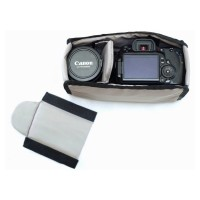 Kantong Kamera DSLR Sekat Softcase Compartment Insert