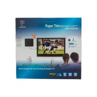 Antop Antena TV Digital DVB-T9023BA - Hitam model thin paper