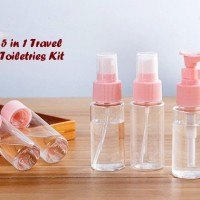 5 in 1 Travel Toiletries Kit Set Botol Kecil Berpergian 1 set isi 5