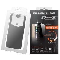 Sale OptimuZ Tempered Glass Anti SPY with Aplicator for Iphone5