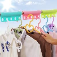Partisi Geser Gantungan Baju 5-Lubang Limited