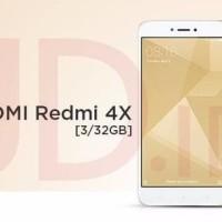 Xiaomi Redmi 4x - RAM 3/ROM 32 Garansi Distributor