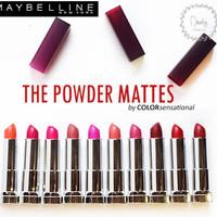 Maybelline The Powder Mattes Lipstick (100% ORIGINAL)