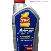 Top One Lifetime ATF Power Steering Fluid - Oli Transmisi Matic 1 Ltr
