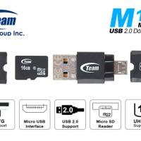 [New] Team M141 Card Reader OTG Support MicroSD & Micro USB