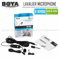Boya Clip-On Microphone BY-M1 for DSLR, Smartphone, Camcorders & PC