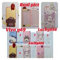 soft case intip plus tempered glass vivo y69 silikon 3d vivo y69 y 69