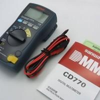 SANWA CD770 digital multimeter Japan multi tester avometer CD 770 asli