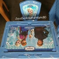 Kursi Dan Meja Belajar Anak Frozen Napoly set