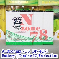 Baterai Andromax U3 INNOS Rakkipanda Double Power Protection