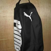 REady !! Tas Sepatu Futsal Bola Gym Fitness Puma Hitam Putih