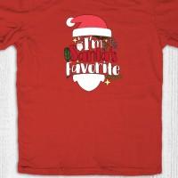 Kaos natal anak dewasa - I'm Santa Red