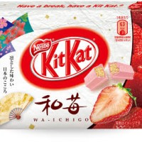 Kitkat Sakura Green Tea Strawberry Melon Box isi 10 pax 30pcs