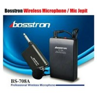 Clip On / Mic Jepit / Kancing / Wireless Microphone BOSSTRON BS - 708A