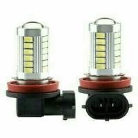 bohlam foglamp h11 led mobil yaris
